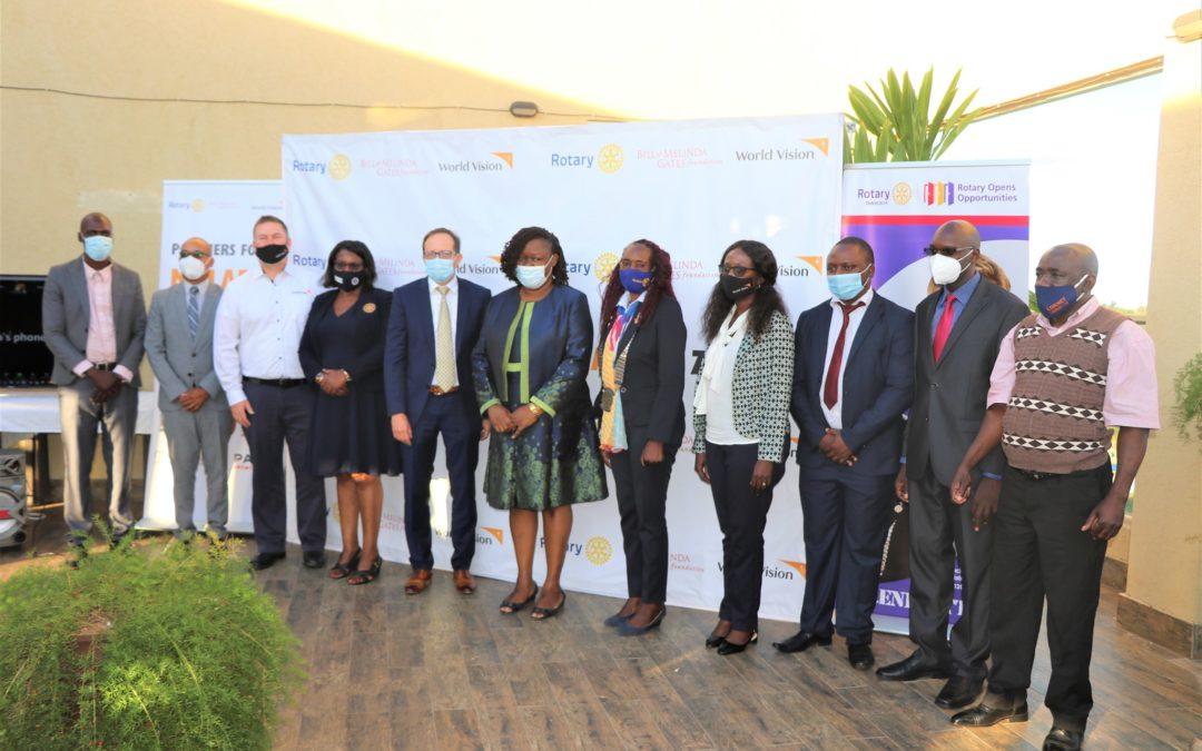Partners for A Malaria-Free Zambia OfficiallyLaunched